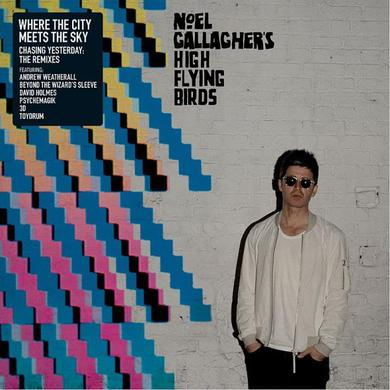 Noel Gallagher's High Flying Birds Where the City Meets the Sky: Chasing Yesterday: The Remixes (Black 2xLP) Double Heavyweight LP (Vinyl)