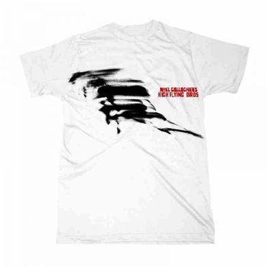 Noel Gallagher's High Flying Birds 2016 White Unisex T-Shirt (Store Exclusive)