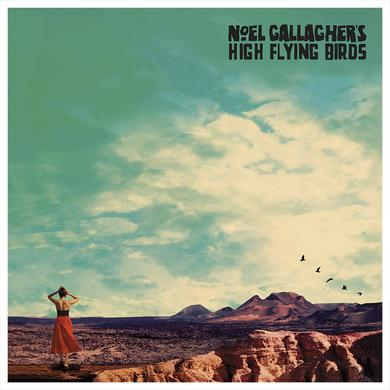 Noel Gallagher's High Flying Birds 3D Lenticular Art Print Of Album Artwork