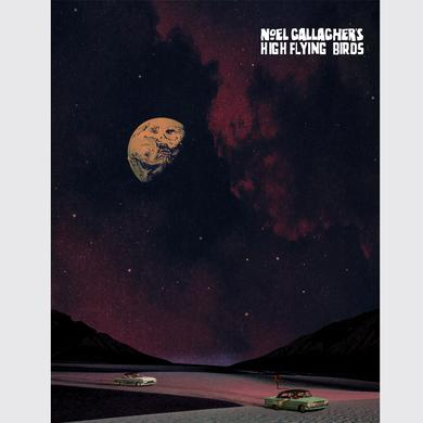 Noel Gallagher's High Flying Birds The Man Who Built The Moon Print