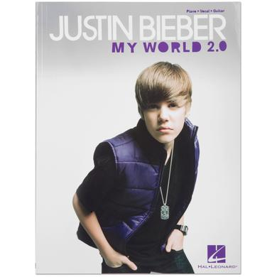 Justin Bieber My World 2.0 Songbook