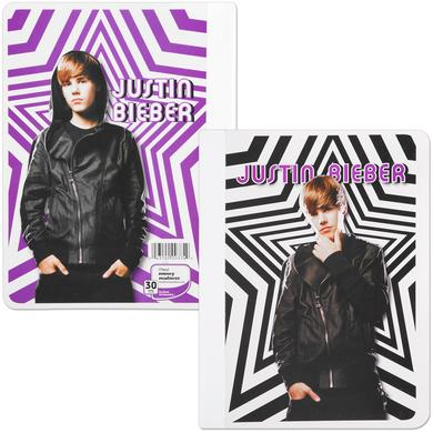 Justin Bieber Wide Ruled Composition Book - Stars