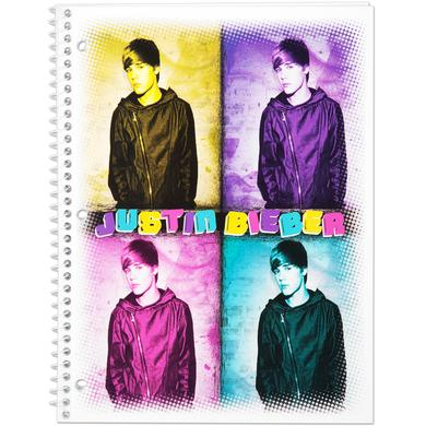 Justin Bieber Notebook 70 Count WR - 4 Square