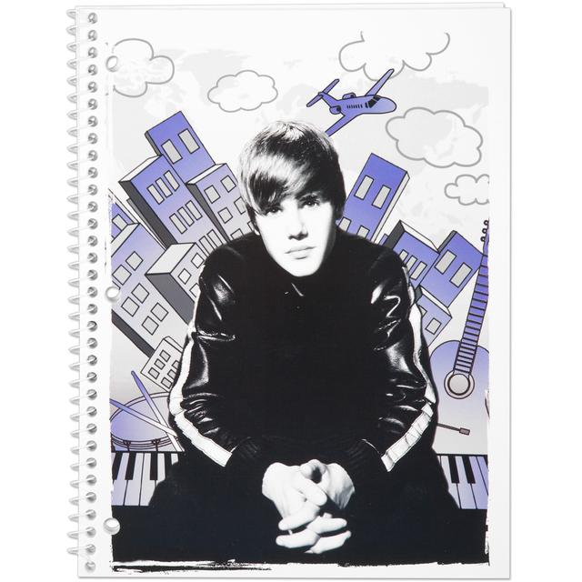 Justin Bieber Notebook 70 Count WR - City