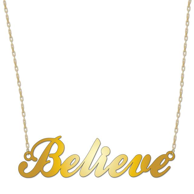 Justin Bieber Believe Necklace
