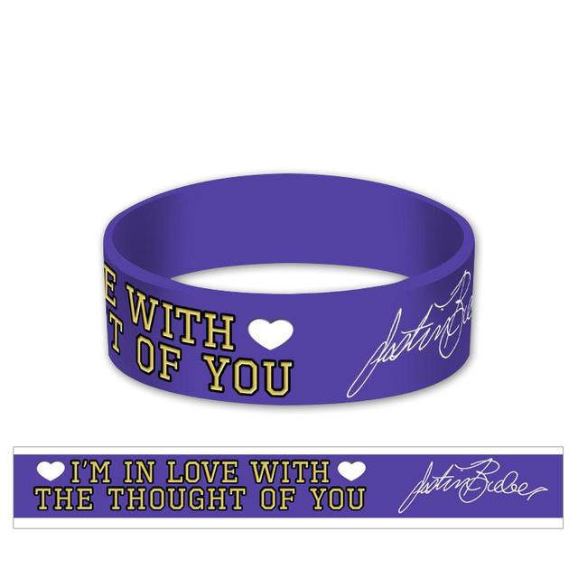 Justin Bieber Love With The Thought Bracelet