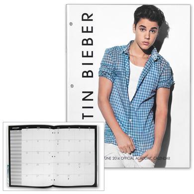 Justin Bieber 2013-2014 Notebook Academic Planner