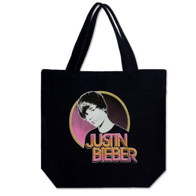 Justin Bieber Glance Tote Bag