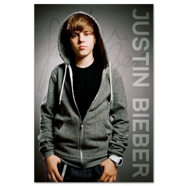 Justin Bieber Signature Poster