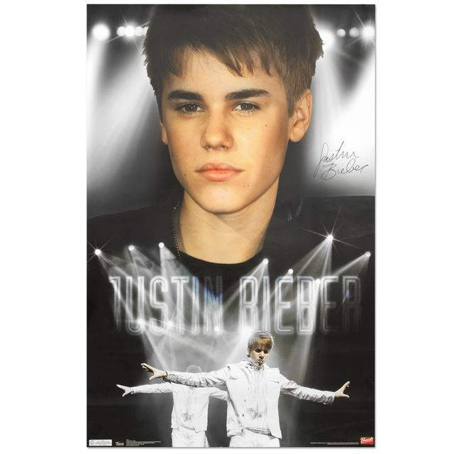 Justin Bieber Stage Poster