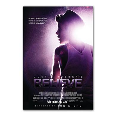 Justin Bieber Believe Movie Art Print