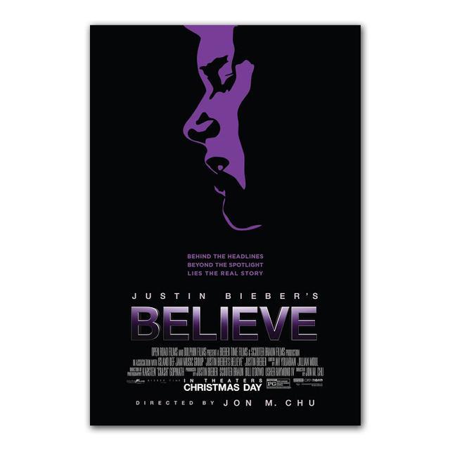 Justin Bieber Believe Sing Art Print