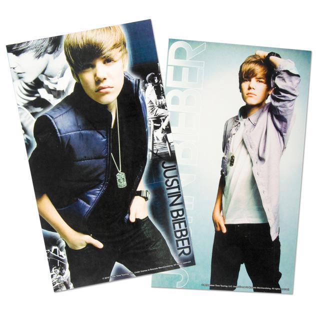 Justin Bieber Mini Poster Sticker Pack