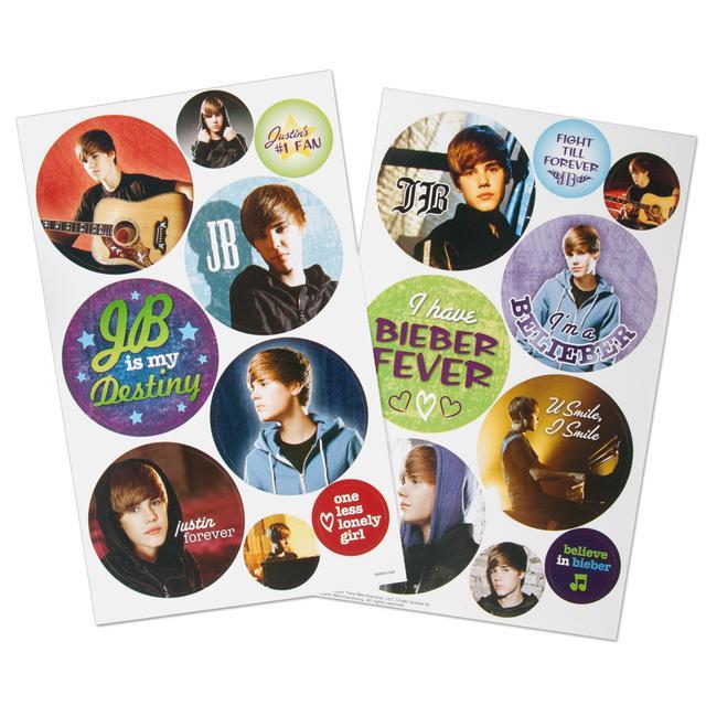 Justin Bieber I'm a Belieber Sticker Set