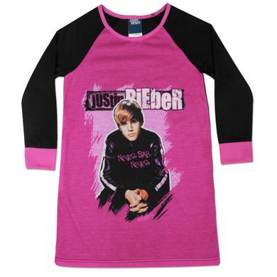 Justin Bieber I Love JB Kids Long Sleeve Dorm Tee