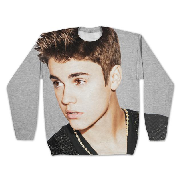 Justin Bieber Girls Sublimated Sweatshirt