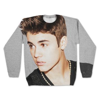 Justin Bieber Girls Sublimated Sweatshirt