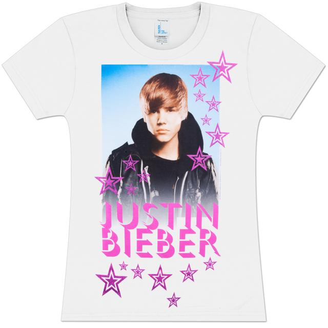 Justin Bieber A Star Juniors' T-Shirt