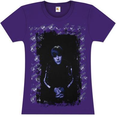 Justin Bieber Paint Frame Babydoll