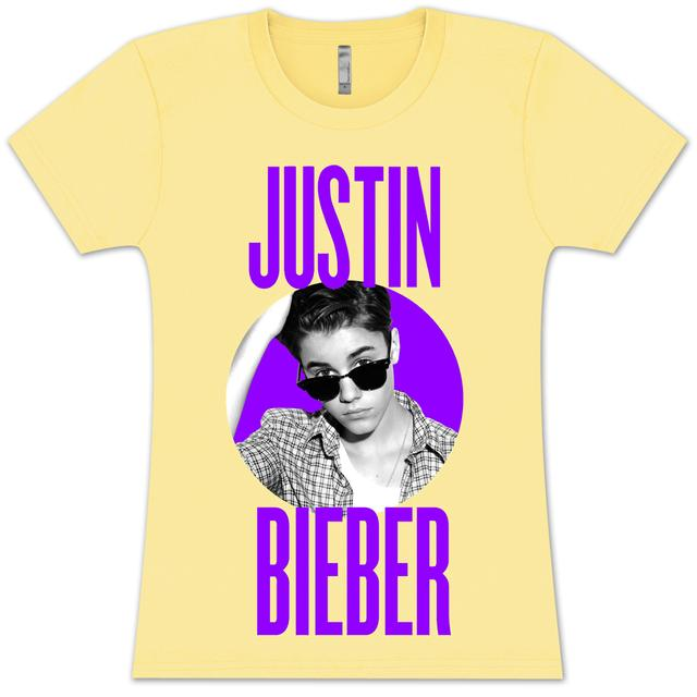 Justin Bieber Circle Glasses T-Shirt