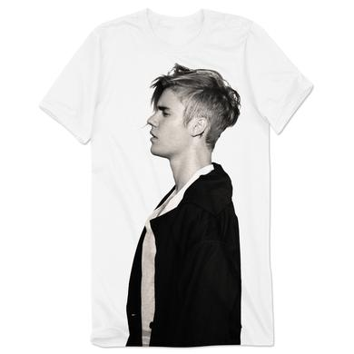 Justin Bieber Jumbo Profile Long T-Shirt