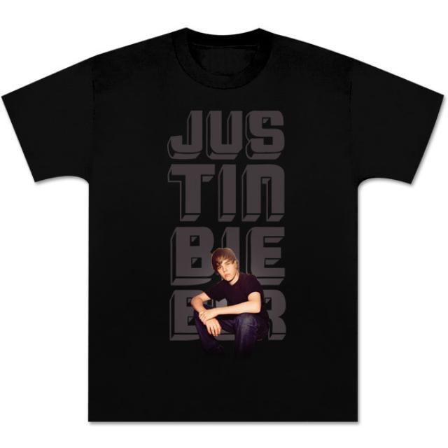 Justin Bieber Glow Photo T-Shirt
