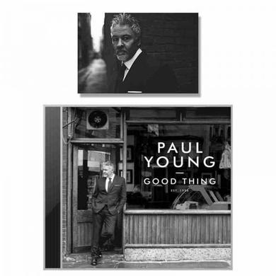 Paul Young Good Thing (With Signed Photograph) CD