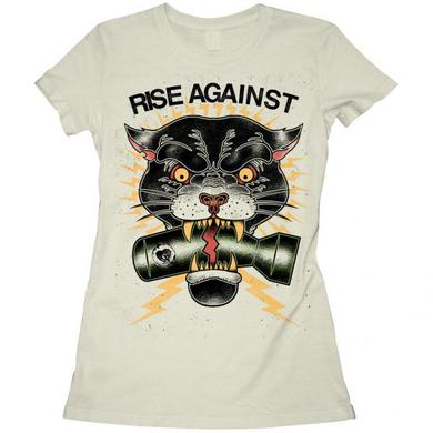 Rise Against Panther Girls T- Shirt