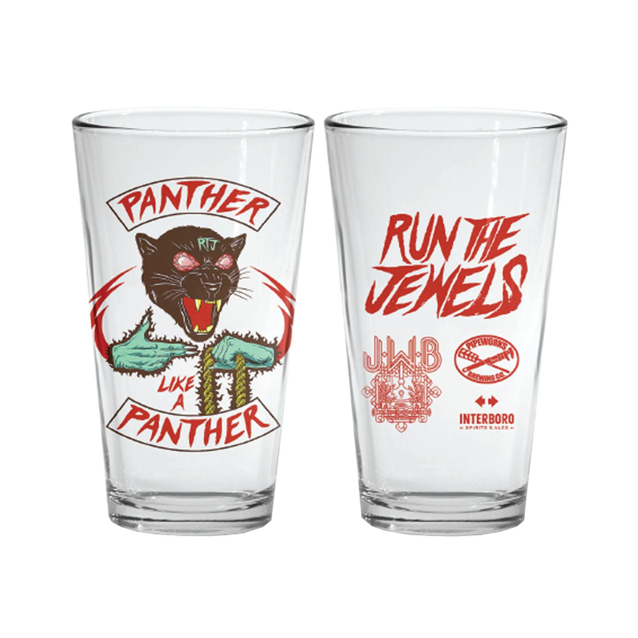 7a097c2ab Run The Jewels Panther Pint Glass