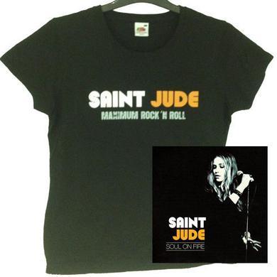 Saint Jude Ladies Logo Black
