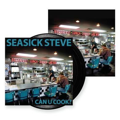 Seasick Steve Can U Cook? Black 180g Vinyl LP Heavyweight LP