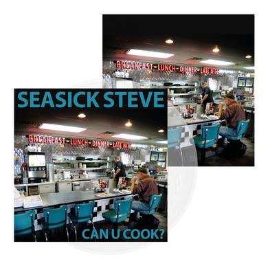 Seasick Steve Can U Cook? Clear 180g Vinyl LP (Ltd Edition) Heavyweight LP