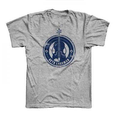Seth Lakeman Ladies New Logo Grey T-Shirt