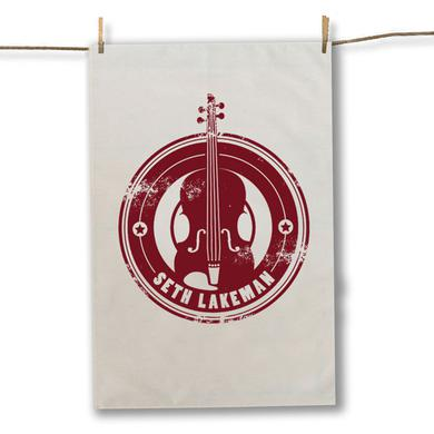Seth Lakeman Red Tea Towel