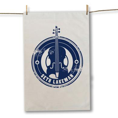 Seth Lakeman Blue Tea Towel
