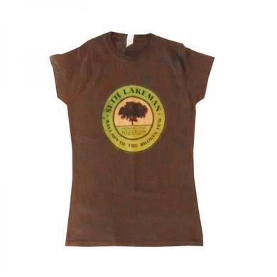 Seth Lakeman Ladies Ballads Of The Broken Few Brown T-Shirt