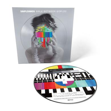 Simple Minds Walk Between Worlds Picture Disc Vinyl (Exclusive) Heavyweight LP