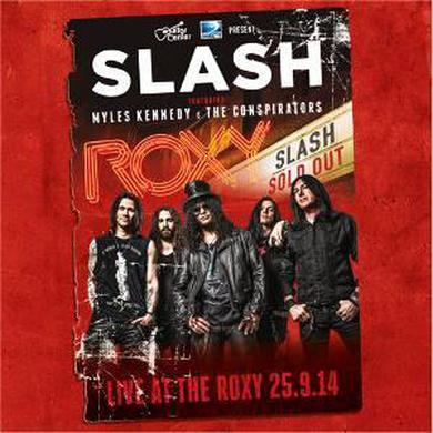 Slash Live At The Roxy 25.9.14 (Triple Heavyweight Vinyl) Triple Heavyweight LP