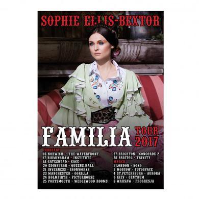 Sophie Ellis-Bextor Familia Tour Poster