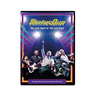 Status Quo The Last Night Of The Electrics (DVD) DVD
