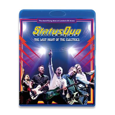 Status Quo The Last Night Of The Electrics (Blu-ray) Blu-ray