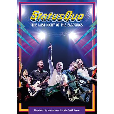 Status Quo The Last Night Of The Electrics (Exclusive A2 Poster)