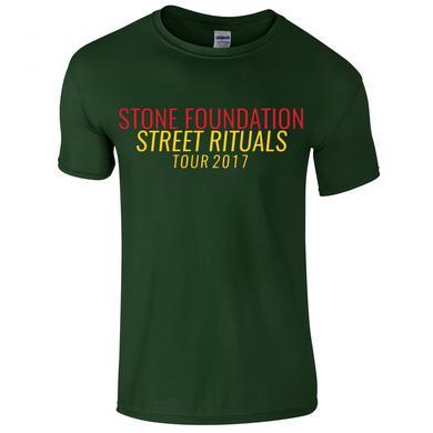 Stone Foundation Green Street Rituals Tour 2017 T-Shirt