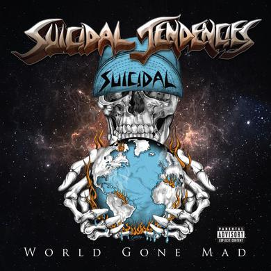 Suicidal Tendencies World Gone Mad 2LP (Limited Blue Vinyl) Double Heavyweight LP