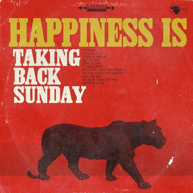 Taking Back Sunday Happiness Is CD Album CD