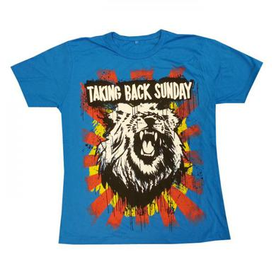 Taking Back Sunday Mens Lion Head T-Shirt