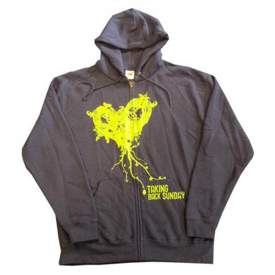 Taking Back Sunday Heart Full Zip Hoody