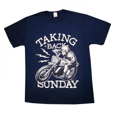 Taking Back Sunday Mens Motorcycle T-Shirt