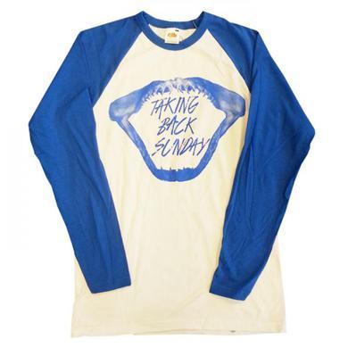 Taking Back Sunday Mens Shark Baseball T-Shirt
