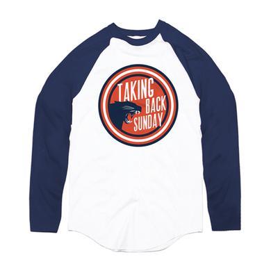 Taking Back Sunday Panther Circle Baseball T-Shirt